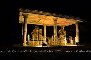Arca-arca yang dimungkinkan sisa zaman Kerajaan Sriwijaya.