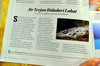 Lahatku Ada di National Geographic Traveler Bulan April 2013